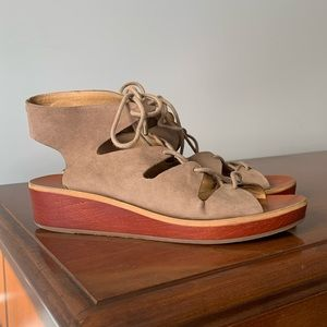 Lucky Brand Hipsta Wedge Sandals